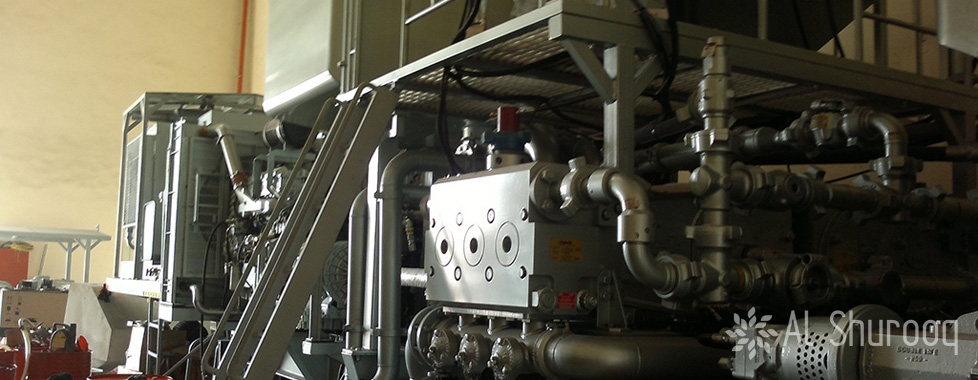 Twin Pump Cementing Unit With Mixing Tank 6