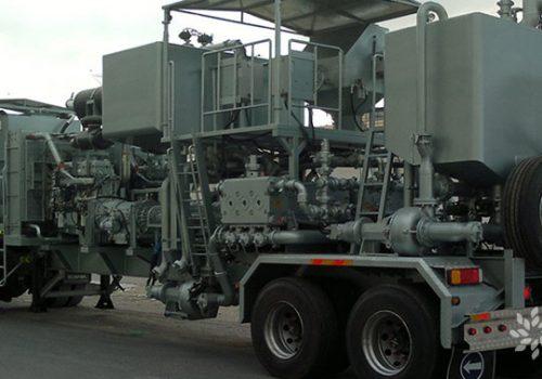 Oilfield Services Twin Cementing Unit
