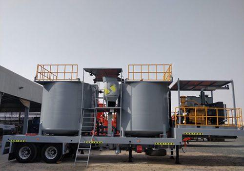 200 BBL Cement Batch Mixer